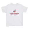 Power of Positive Music Movement Chidren's Shirt - White