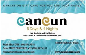 Cancun Card Supports Power of Positive Music Movement