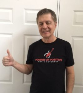 Carl Giammarese Supports Power of Positive Music Movement