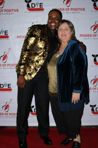 PoPMM President Keyonne Brooks and Actress Joan Blair