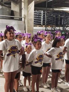 Los Angeles Sparks Power of Positive Music Movement