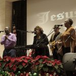 Power of Positive Music Movement Christmas Give Back at the Los Angeles Mission - Jean Johnson Witherspoon Grammy Nominee